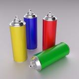 Poder de aerosol Imagenes de archivo