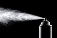 Poder de aerosol de Aerolsol Imágenes de archivo libres de regalías