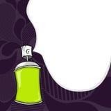 Poder de aerosol de la pintada Fotografía de archivo libre de regalías