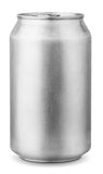 poder de aluminio de 330 ml Fotografía de archivo libre de regalías