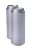 Poder de bebida en blanco Fotos de archivo libres de regalías