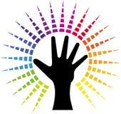 Poder de la mano Foto de archivo libre de regalías