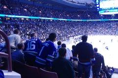 Poder de la toalla en el NHL Imagenes de archivo
