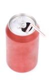 Poder de soda roja Fotografía de archivo