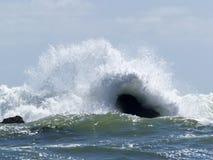 Poder del océano Foto de archivo