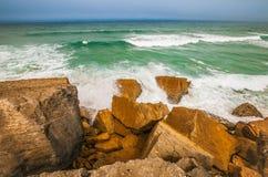 Poder del Océano Atlántico Fotos de archivo