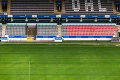 Poder del rey en el stadion del dreef de la guarida imagen de archivo libre de regalías