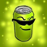 Poder divertida del limón Fotografía de archivo libre de regalías