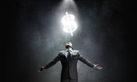 Poder do dinheiro imagens de stock royalty free