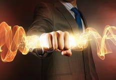 Poder do negócio Foto de Stock