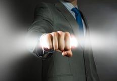 Poder do negócio Imagem de Stock Royalty Free