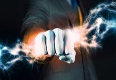 Poder do negócio imagens de stock