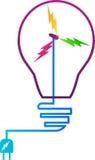 Poder e energia ilustração do vetor