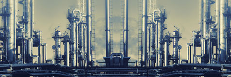 Poder e energia, petróleo e gás Imagens de Stock Royalty Free