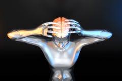 Poder mental Imagen de archivo libre de regalías