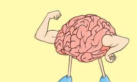 ¡Poder mental! Foto de archivo