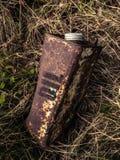 Poder oxidada vieja del petróleo Fotos de archivo