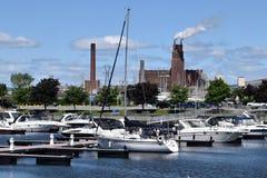 Poder para el placer y la industria, Quebec Fotos de archivo libres de regalías