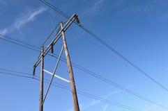 Poder superior Lines.JPG Fotos de Stock