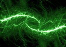 Poder verde, abstracto Imagenes de archivo