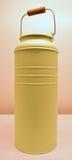Poder verde clara de la leche del color Imagen de archivo libre de regalías