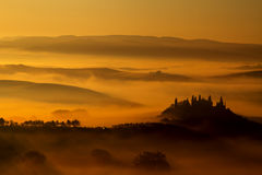 Podere Belvedre San Quirico D'Orcia Royalty Free Stock Photos