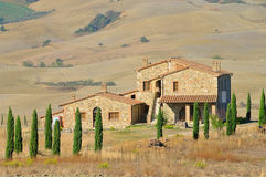 Podere in fall Royalty Free Stock Image