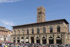 The Podestà palace in Bologna, Italy Stock Photos