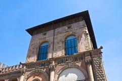 Podesta's Palace. Bologna. Emilia-Romagna. Italy. Royalty Free Stock Photography