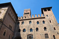 Podesta's Palace. Bologna. Emilia-Romagna. Italy. Stock Images