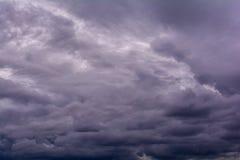 Podeszczowa chmura Obrazy Royalty Free