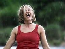 podeszczowa prysznic Zdjęcia Royalty Free