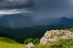 Podeszczowe chmury zdjęcia royalty free