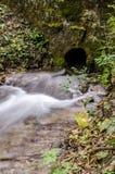 Podeszczowej wody odciek obraz royalty free
