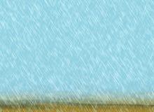 Podeszczowi burz tła w chmurnej pogodzie Zdjęcia Stock