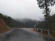 Podeszczowy &Snow zdjęcie stock