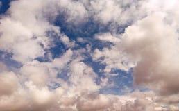 Podeszczowych chmur tekstura Obrazy Royalty Free