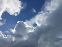 Podglądania słońce Obrazy Stock