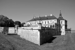 Podgoretsky城堡 库存图片