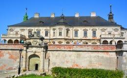Podgoretsky城堡 免版税图库摄影