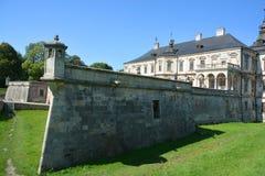 Podgoretsky城堡 图库摄影