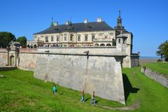 Podgoretsky Castle Royalty Free Stock Photo