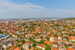 Podgorica aerial view Stock Photography
