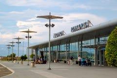The Podgorica International airport Royalty Free Stock Image