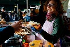 podgrodzia pudełkowaci London targowi warzywa Fotografia Royalty Free