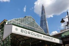 Podgrodzie rynek blisko Londyn mosta, Obraz Stock
