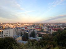 Podil, Kyiv, Ukraine. View to Podil – oldest part of Kyiv , the capital of Ukraine Royalty Free Stock Image