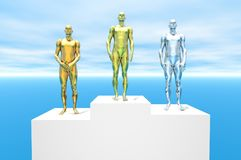 Podium Royalty Free Stock Image