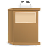 Podium. An image of a podium Royalty Free Stock Image