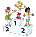 podium Stockfoto